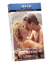 DROPPED: Sinclair Institute - Couples Guide to Great Sex over 40 Vol. 1 Adding Spice to Sex Over 40 - 1 VHS Cassette(s)