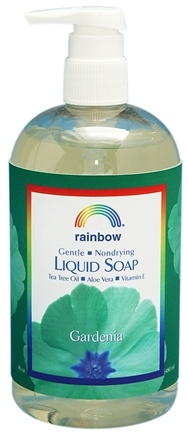 DROPPED: Rainbow Research - Liquid Soap Gardenia - 16 oz. CLEARANCE PRICED