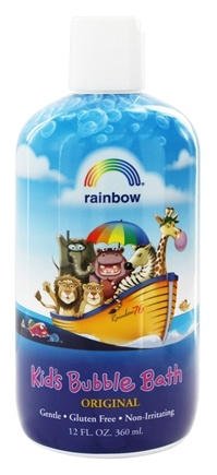 Rainbow Research - Organic Herbal Bubble Bath For Kids Original - 12 oz.