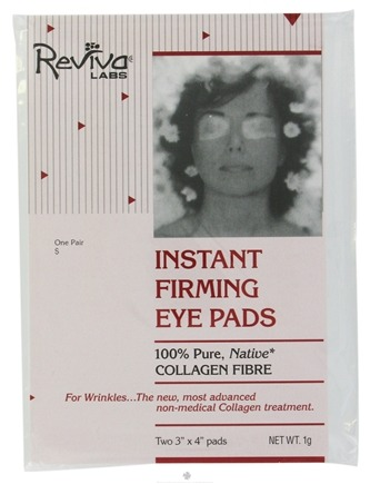 DROPPED: Reviva Labs - Instant Firming Eye Pads - Formerly: Collagen Eye Pads