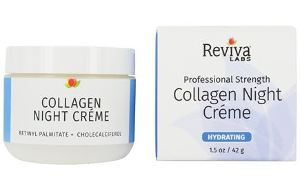 Reviva Labs - Collagen Night Cream - 1.5 oz.