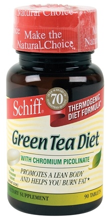 DROPPED: Schiff - Green Tea Diet - 90 Tablets CLEARANCE PRICED