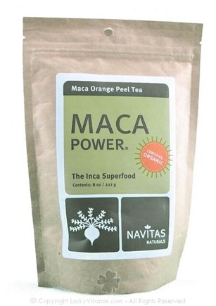 DROPPED: Navitas Naturals - Maca Power Maca Orange Peel Tea - 8 oz.