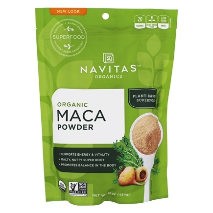 DROPPED: Navitas Naturals - Raw Maca Powder - 16 oz.