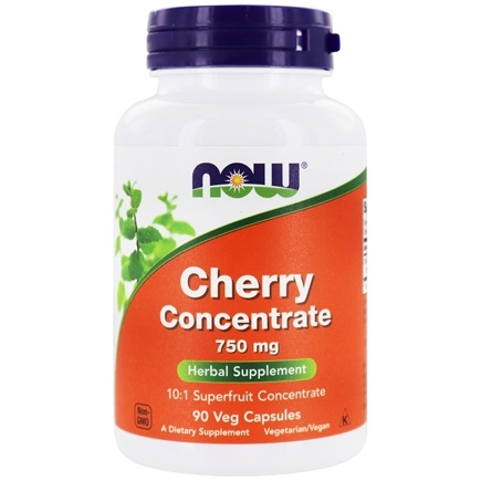 NOW Foods - Black Cherry Fruit Extract 750 mg. - 90 Vegetarian Capsules