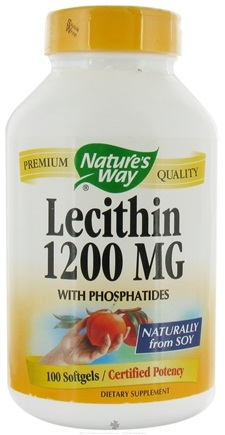 DROPPED: Nature's Way - Lecithin 1200 mg. - 100 Softgels