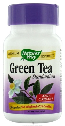 DROPPED: Nature's Way - Standardized Green Tea - 30 Capsules
