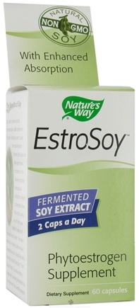 DROPPED: Nature's Way - Estrosoy - 60 Capsules
