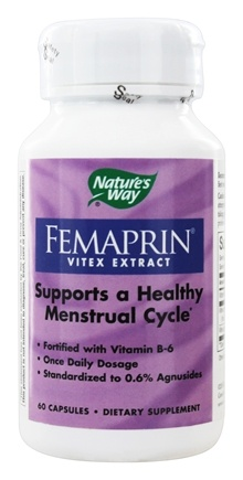 Nature's Way - Femaprin (Vitex) - 60 Capsules
