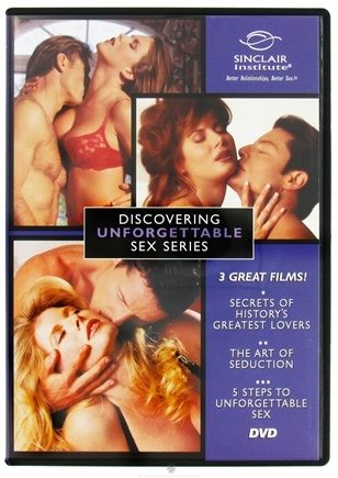 DROPPED: Sinclair Institute - Discovering Unforgettable Sex Series - 1 DVD(s) CLEARANCE PRICED