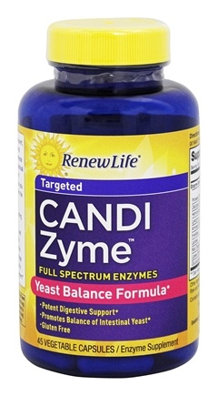 DROPPED: ReNew Life - Candizyme - 45 Vegetarian Capsules CLEARANCE PRICED
