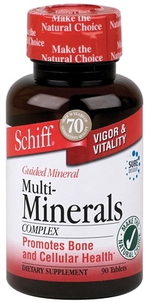 DROPPED: Schiff - Guided Minerals Multi-Mineral Complex - 90 Tablets