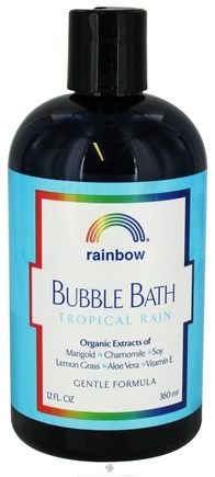 DROPPED: Rainbow Research - Bubble Bath Tropical Rain - 12 oz.