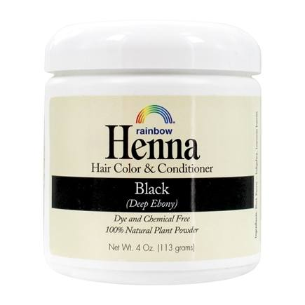 Rainbow Research - Henna Hair Color Persian Black - 4 oz.
