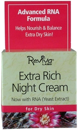 DROPPED: Reviva Labs - Extra Rich Night Cream - 1.5 oz.
