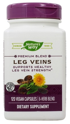 Nature's Way - Leg Veins with Tru-OPC's 435 mg. - 120 Vegetarian Capsules