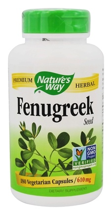 Nature's Way - Fenugreek Seed 610 mg. - 180 Capsules