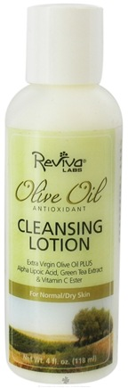 DROPPED: Reviva Labs - Olive Oil Antioxidant Cleansing Lotion - 4 oz.