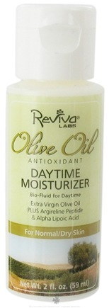 DROPPED: Reviva Labs - Olive Oil Daytime Moisturizer - 2 oz. Formerly: Olive Oil Bio Fluid Daytime - CLEARANCE PRICED