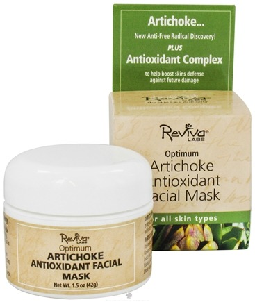 DROPPED: Reviva Labs - Optimum Antioxidant Facial Mask with Artichoke - 1.5 oz.