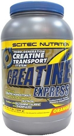 DROPPED: Scitec Nutrition - creatine Express Orange