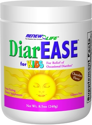 DROPPED: ReNew Life - DiarEASE for Kids For Relief of Occasional Diarrhea - 8.5 oz.