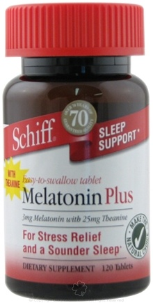 DROPPED: Schiff - Melatonin Plus 3 mg. - 120 Tablets CLEARANCE PRICED