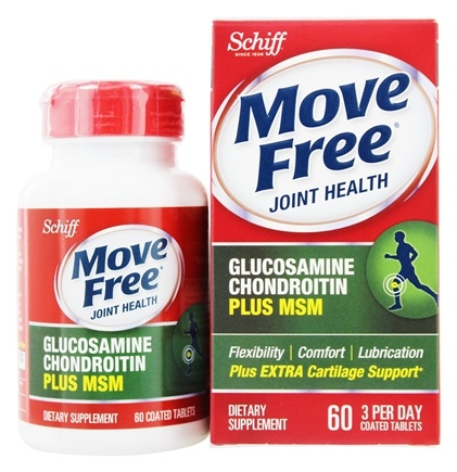 Schiff - Move Free Advanced plus MSM 1500 mg. - 60 Tablets