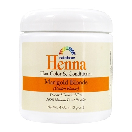 Rainbow Research - Henna Persian Hair Color Marigold Blonde - 4 oz.