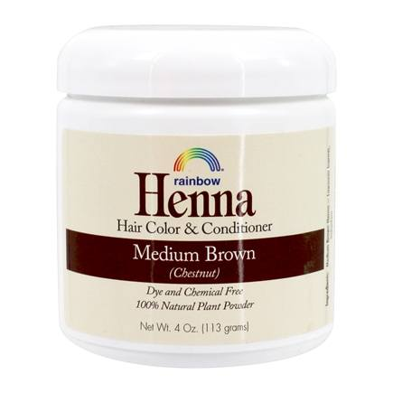 Rainbow Research - Henna Persian Hair Color Medium Brown - 4 oz.