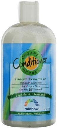 DROPPED: Rainbow Research - Organic Herbal Lavender & Chamomile Conditioner - 16 oz. CLEARANCE PRICED