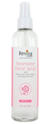 Reviva Labs - Rosewater Facial Spray - 8 oz.
