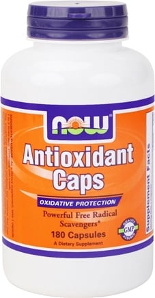 DROPPED: NOW Foods - Antioxidant Caps - 180 Capsules