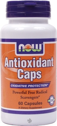 DROPPED: NOW Foods - Antioxidant Caps - 60 Capsules