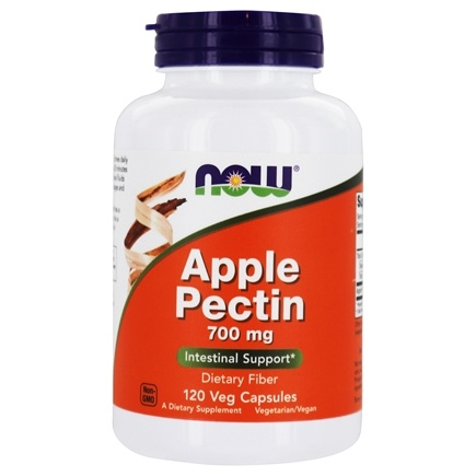 NOW Foods - Apple Pectin 700 mg. - 120 Capsules
