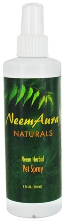 DROPPED: NeemAura Naturals - Neem Herbal Pet Spray - 8 oz. CLEARANCE PRICED