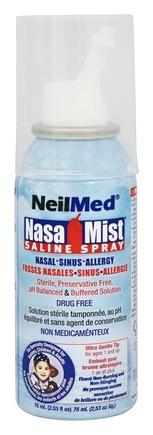 DROPPED: NeilMed Pharmaceuticals - NasaMist Saline Spray - 2.53 oz.