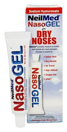 NeilMed Pharmaceuticals - NasoGel Tube for Dry Noses - 1 oz.