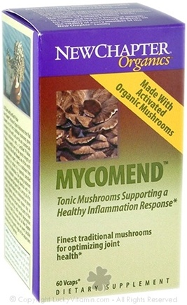 DROPPED: New Chapter - Mycomend - 60 Vegetarian Capsules