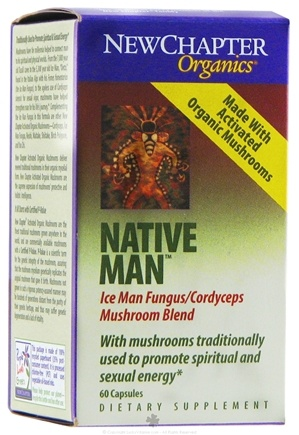 DROPPED: New Chapter - Native Man - 60 Capsules