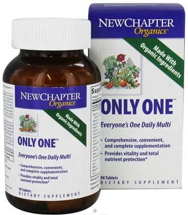DROPPED: New Chapter - Only One - 90 Tablets CLEARANCE PRICED