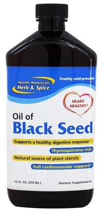 DROPPED: North American Herb & Spice - Black Seed Plus Oil - 12 oz. CLEARANCED PRICED
