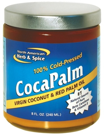 DROPPED: North American Herb & Spice - CocaPalm Virgin Coconut & Red Palm Oil - 8 oz.