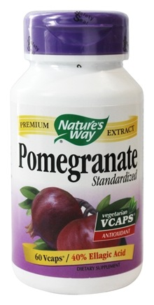 Nature's Way - Standardized Pomegranate - 60 Vegetarian Capsules
