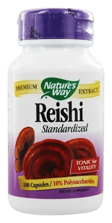 Nature's Way - Standardized Reishi 376 mg. - 100 Capsules