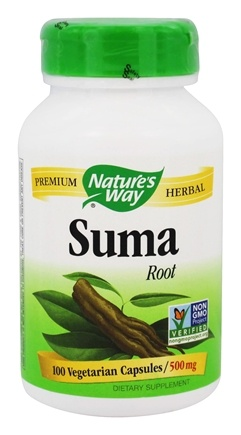 Nature's Way - Suma (Brazilian Ginseng) 500 mg. - 100 Capsules