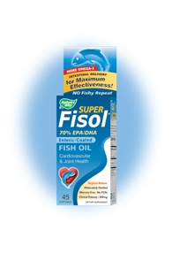 DROPPED: Nature's Way - Super Fisol Fish Oil - 45 Softgels