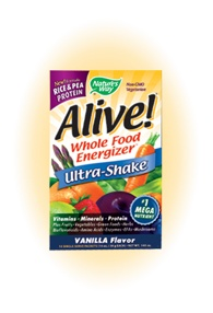 DROPPED: Nature's Way - Alive Rice/Pea Ultra-Shake Vanilla - 10 Packet(s)