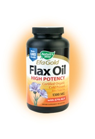 DROPPED: Nature's Way - Flax Oil 1300 mg. - 100 Softgels