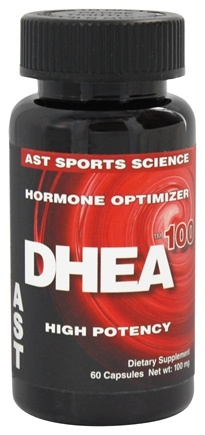 DROPPED: AST Sports Science - DHEA Dehydroepiandrosterone 100 mg. - 60 Capsules